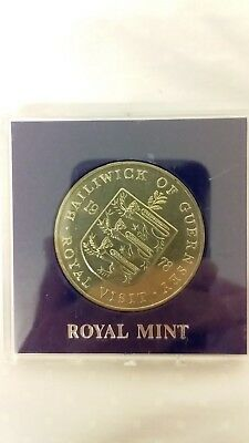 Royal Mint - Large Coin In A Protected Capsule - Estate Coin