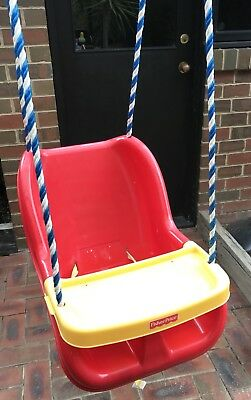 Fisher Price Outdoor Baby / Toddler Swing with Food Tray