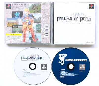 USED PS1 PS PlayStation 1 ​​Final Fantasy Tactics