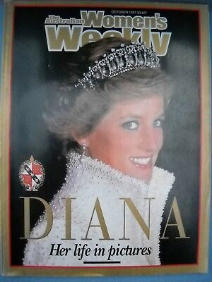 **diana-Her Life In Pictures Oct.97 Commemorative Issue In Very Good Condition**