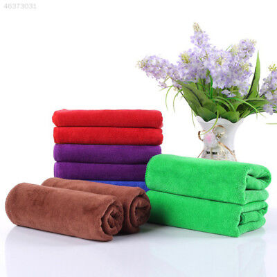 Microfiber Water Absorbent Washing Towel Thickening Car Wash Hair Dry 30X70cm