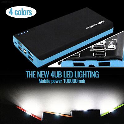 8321 Quick Charge Portable 100000 MAh 4 USB Output Battery Charger Power Bank