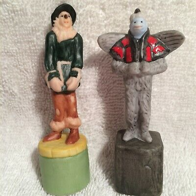 Scarce New 1995 Star Jars Wizard of Oz Chess Salt and Pepper Shakers,