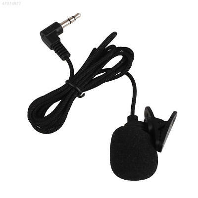 FA0C Mini Clip-On Lapel Wired Double Track Microphone MIC For SmartPhones PC