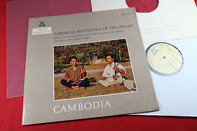 Unesco Collection  CAMBODIA  -  LP Bärenreiter Musicaphon BM 30 L 2002 Germany
