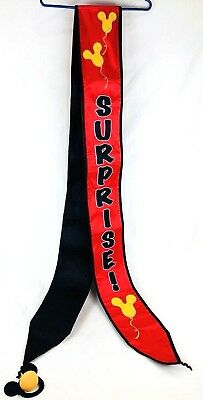 Rare Special Surprise Gift Your Pal Mickey Mouse Himself Banner Sign Disney EUC