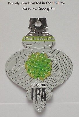 Traditional Christmas Ornament Handmade Recycled Aluminum AZ Craft IPA Beer Can
