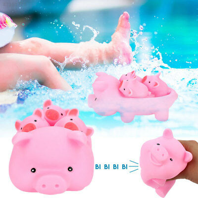 D8BD Doll Baby Bathing Toys Cute Water Pink Pig Kids Bathing Toys 139EB0B