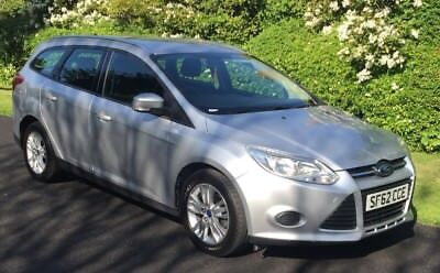 2012 62 Ford Focus Edge Estate 1.6 Tdci One Owner Immaculate Condition Ex Police
