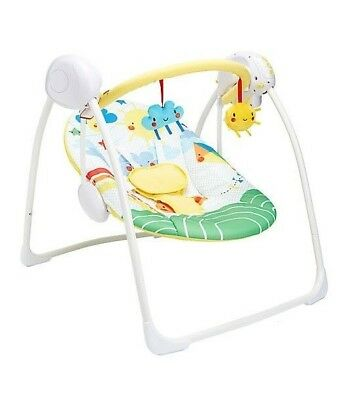 Sunshine and Showers Baby Swing -  Soothing Baby Swing