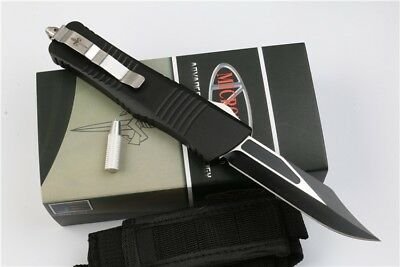 Microtech Troodon Hellound Black Snake+ Tool Limited Edc Hunt Survival