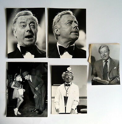 HEINZ RÜHMANN * 5 PRESSEFOTOS div. Grössen PHOTOS Vintage STILLS Lot 1982
