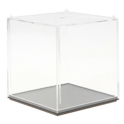 10x10x10cm Clear Model Display Box Figures Protection Show Case Home Decor