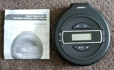BOSE Model PM-1 Compact Disc CD Player Portable with Manual