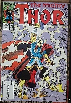 Mighty Thor # 378 , Classic Simonson Run High Grade Copy