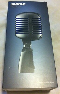 Shure Super 55 Classic 50s-Style Vocal Microphone with Blue Mesh - Ships Free!