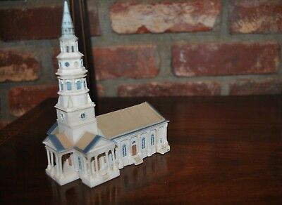 ST PHILIPS EPISCOPAL CHURCH 1835-1836 TR004 SHELIA'S CHARLESTON SC Resin