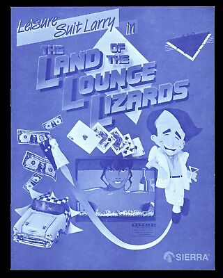 Leisure Suit Larry In The Land Of The Lounge Lizards - Vintage Macintosh Game