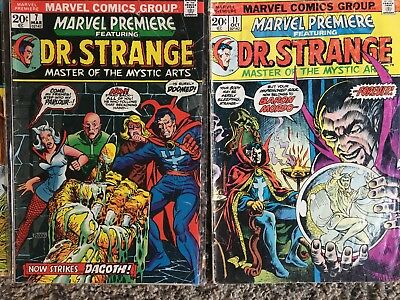 Marvel Premiere / Feature Lot (7 issues)  Dr. Strange / Ant-man