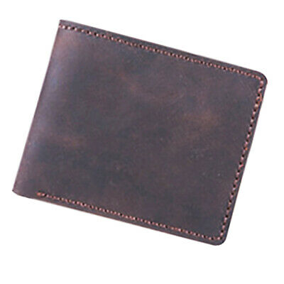 DIY Leather Wallet Purse Bifold Kit Pre-cut Leathercraft Project with All U Need