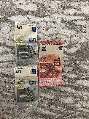 European Union 20 Euro 2002 Banknote Bill Collectible Currency Paper Money