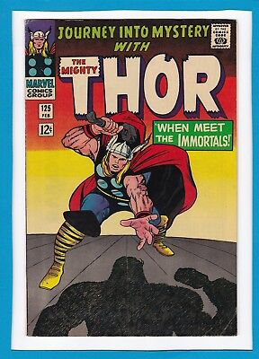 Journey Into Mystery #125_February 1966_Very Fine Minus_Mighty Thor_Silver Age!