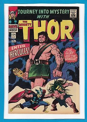 "Journey Into Mystery #124_January 1966_Very Fine_Mighty Thor_""enter Hercules""!"