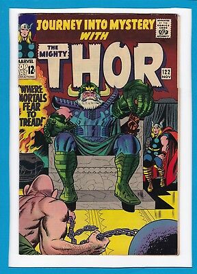 Journey Into Mystery #122_November 1965_Fine/very Fine_Mighty Thor_Silver Age!