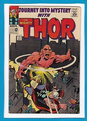 Journey Into Mystery #121_October 1965_Very Fine_Mighty Thor_Absorbing Man!