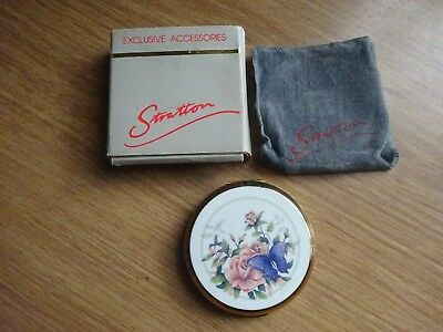 Lovely Vintage Stratton Compact-Unused-Boxed
