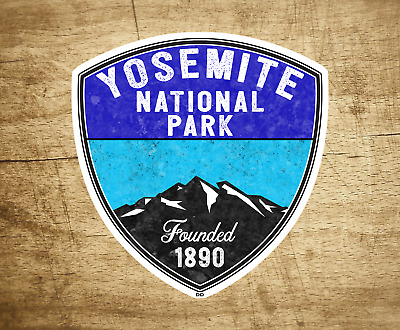 Yosemite National Park California Sticker Decal 3""