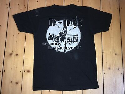 AC/DC Donington Park 1981 - Special D-DAY Event Shirt - Monsters of Rock - RARE