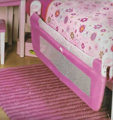 Mothercare Pink Soft Folding Bed Guard