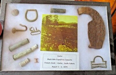 Custer Last Stand Artifacts, French Creek Expedition Campsite, Private Land 1874