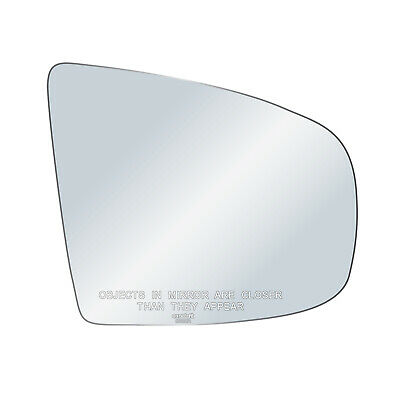 Passenger Side View Drop Fit OE Replacement Mirror Glass F32047 Fits Toyota