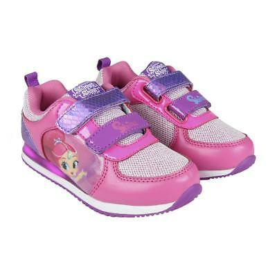 Shimmer and shine official  flashing trainers, shoes , in box sizes 7-12