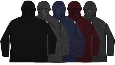 Adidas Men's Ultimate Long Sleeve Hooded Tee, Color Options