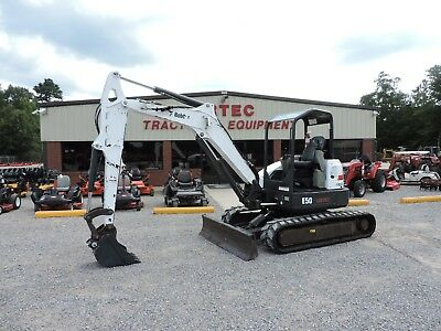 2013 Bobcat E50 Excavator - 2 Speed Travel - Front Blade - Good Condition!!