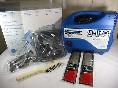 NEW Chicago Electric Welding Systems Portable 100 Amp Utility Arc Welder
