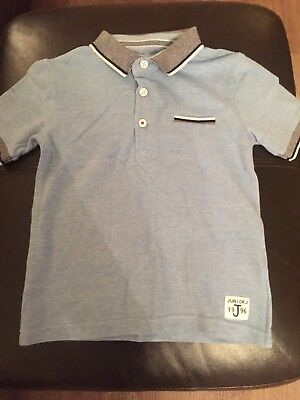 Boys Polo Shirt Junior J Age 3-4