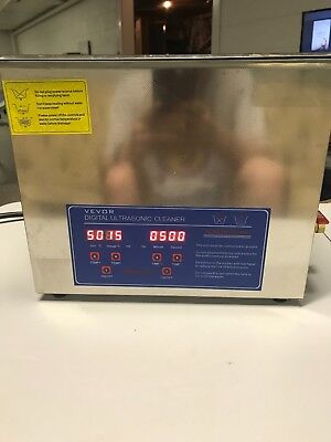 Lightly Used Vevor Ultrasonic Cleaner 6L for Cleaning Computer Logic Boards