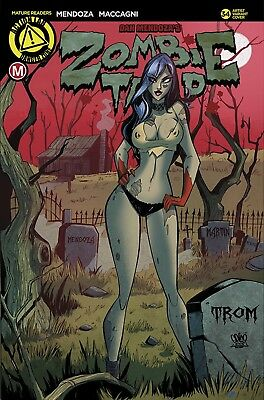 Zombie Tramp Ongoing #34 Cover E Trom (Mr) Action Lab - Danger Zone 2017