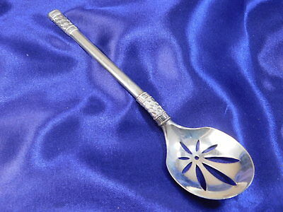 Wallace Aegean Weave Sterling Silver Bon Bon Spoon - Nearly New Condition