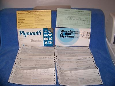 1978 Plymouth Fury Volare manual lot