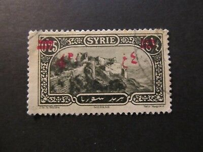 1926/30 - Syria - Surcharged In Red - Scott 191 A4 4P On 25C