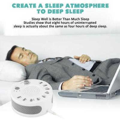 Sleep White Noise Machine, White Noise Record Voice Sensor For Home Office NEW L