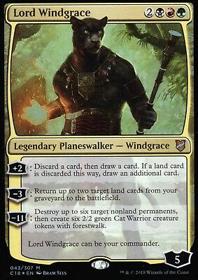 Lord Windgrace FOIL | NM/M | Commander 2018 | Magic MTG