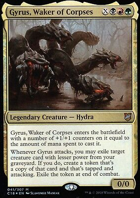 Gyrus, Waker of Corpses FOIL | NM/M | Commander 2018 | Magic MTG