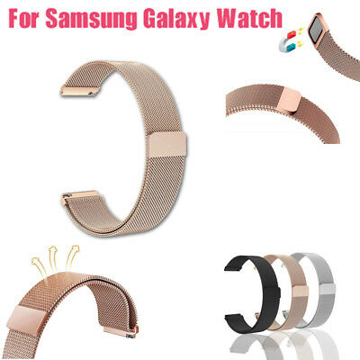 Milanese Magnetic Loop Stainless Steel Wristband For Samsung Galaxy Watch 46mm