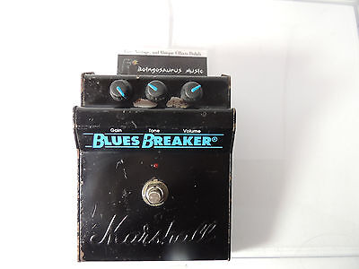 Original Marshall Blues Breaker Effects Pedal Overdrive Made In England Free S&h